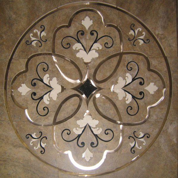 Foyer Medallion Designs : Best images about floor designs on pinterest tile