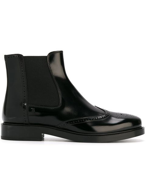 TOD'S Chelsea ankle boots. #tods #shoes #boots