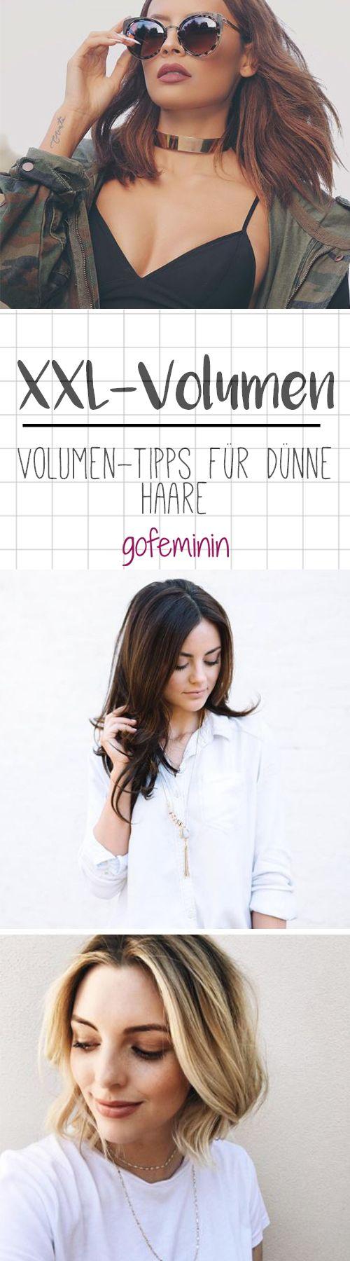 Dünne Haare? Dann probier doch mal diese Tipps & Tricks für XXL-Haare!