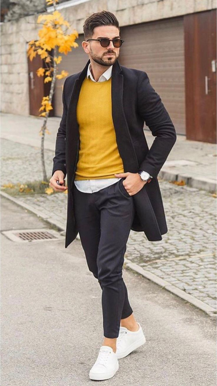 25 Awesome street style outfits! #MensFashionWinter