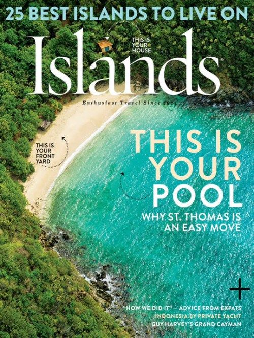 "#MagLoveTop10 29 January 2016: ""Best Travel Magazine Covers of 2015."" #1. Islands."