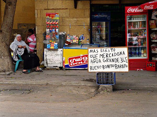 Mercado callejero de El Cairo