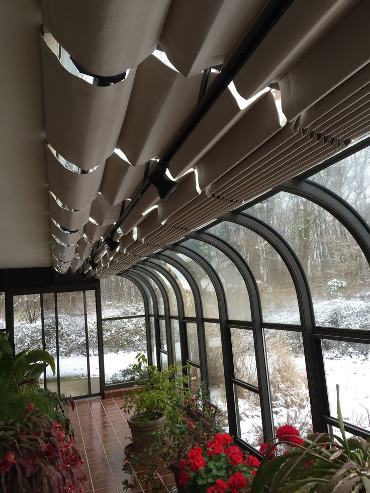 1000 images about sunroom shades on pinterest glow for Motorized shades for arched windows