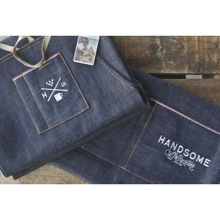 Handsome X Nudie Apron - Merchandise - Staff uniform? partnerships - alliancing with other reputable brands