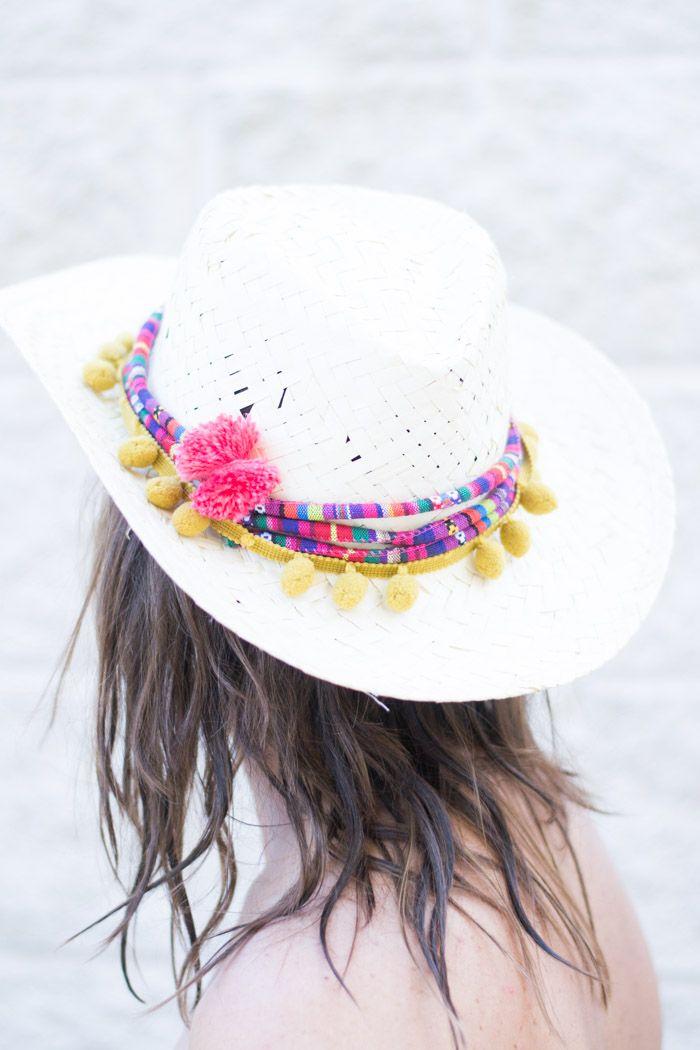 DIY: Festive Pom Pom & Tassels Hat