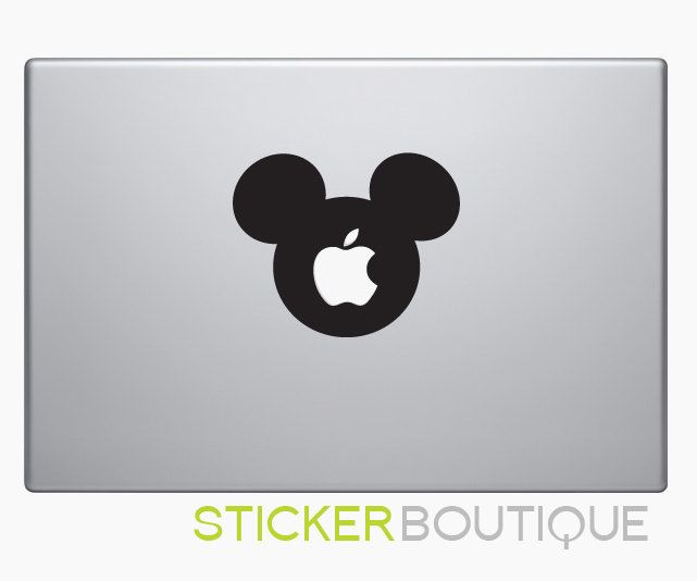 Mickey mouse macbook decal macbook decals macbook sticker mac decals macbook pro air ipad sticker
