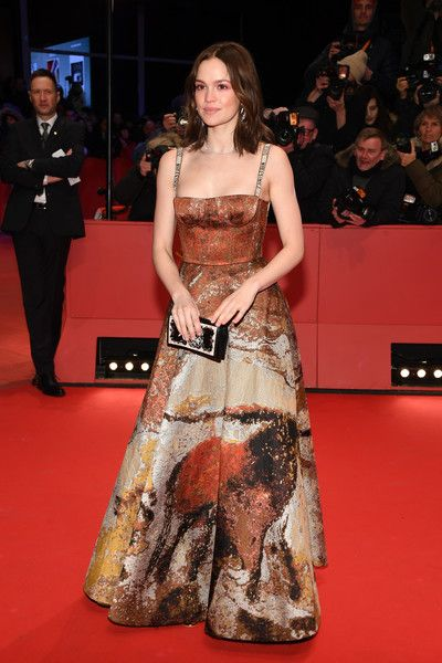 Emilia Schuele Photos - Emilia Schuele attends the Opening Ceremony & 'Isle of Dogs' premiere during the 68th Berlinale International Film Festival Berlin at Berlinale Palace on February 15, 2018 in Berlin, Germany. - Opening Ceremony & 'Isle of Dogs' Premiere Red Carpet - 68th Berlinale International Film Festival