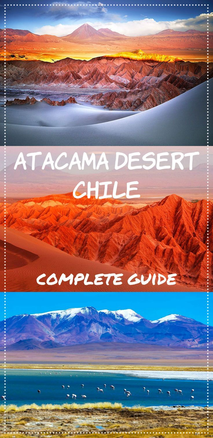 Complete guide to Atacama desert, Chile, the driest place on Earth. Where to stay, what to do, camping in the deser, star gazing, San Pedro de Atacama town, how to visit Atacama on a budget, packing tips, Moon Valley, Death Valley.