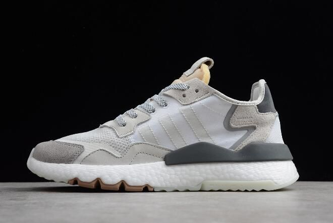 adidas Nite Jogger 2019 GreyWhite Shoes | new adidas shoes