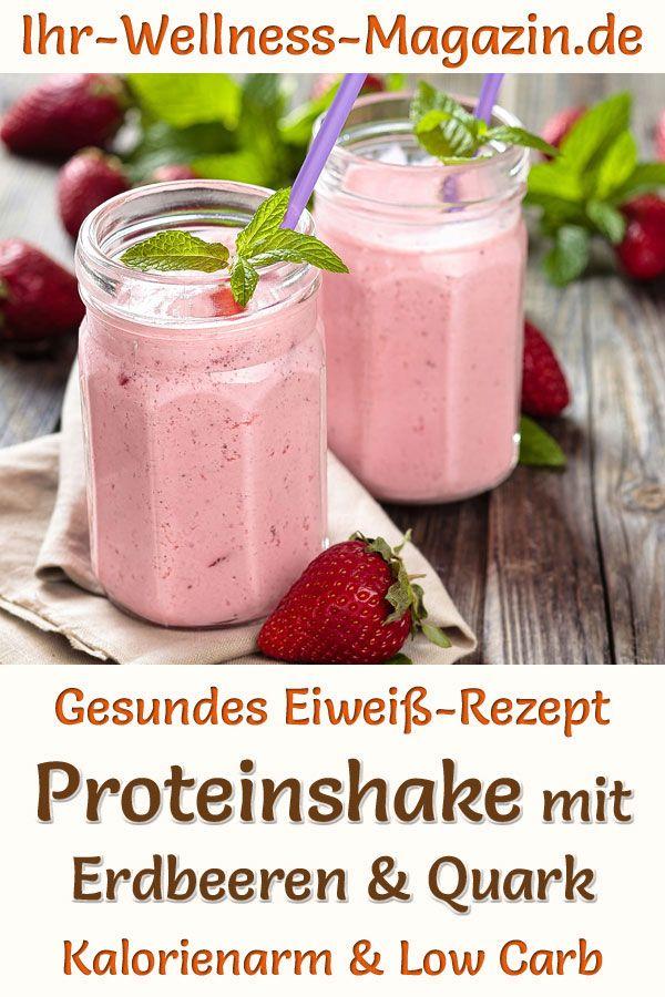Protein-Shake zum Abnehmen Kraft Rezepte