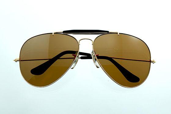 Ray-Ban アビエイター 1970年代 ボシュロム社製 65mm ゴールド×ブラウン sun-r04 - アンティーク&オールディーズ オンラインストア