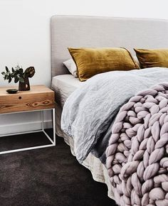 Stylish Bedroom, Trendy Colors, Modern Furniture, Interesting And Unique  Color Choice For Velvet