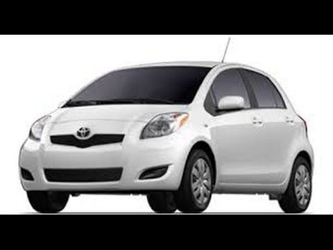 Toyota Yaris Front Low Beam Bulb Replacement Do It Yourself DIY Car Car  Repair Repairs Change A Headlight, Turn Signal Or Parking Light On The Toyota  Yaris ...
