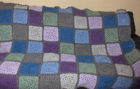 New crochet afghan blanket by Hildescrochetshop on Etsy