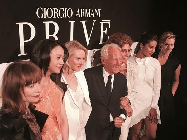 Priyanka Chopra is ruling her Hollywood game and making best of her stardom in the west. The 34 year old actress is currently in Paris for the Fashion Week.  Priyanka Chopra was seen slaying her A game with some of the most influential people at the Giorgio Armani privé fall-winter 2017 runway show. We saw the actress catching up with stars like Kate Winslet Sophia Loren Naomi Watts and man of the hour  Giorgio Armani himself.  PeeCee looked no less than perfection in her white luxe Armani…
