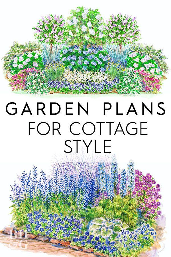 Garden Plans For Cottage Style Garden Planning Cottage Garden Plan Garden Planning Layout
