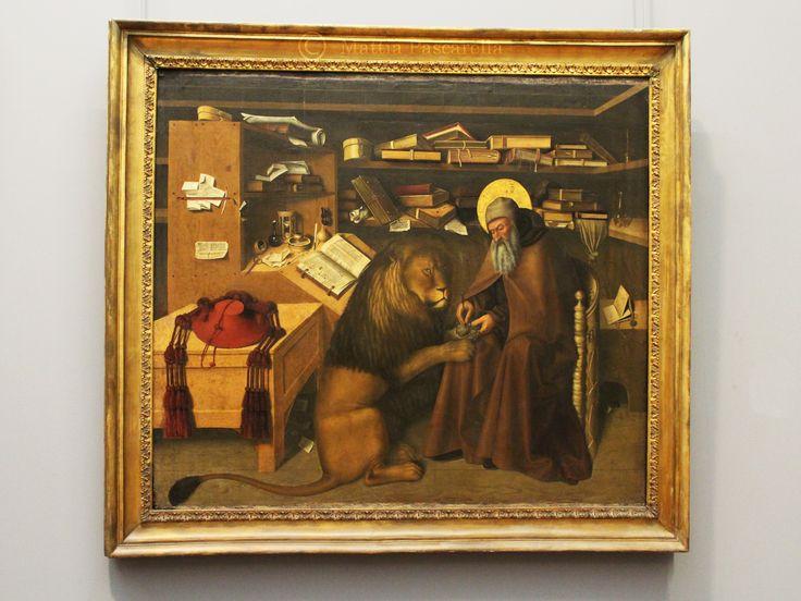 Olio su tela, di Colantonio, 1445 ca.