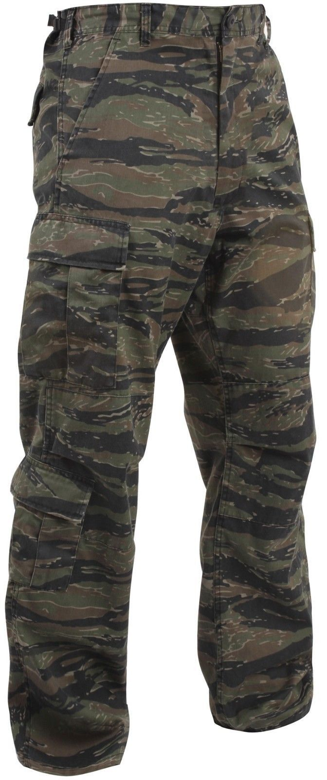 Tiger Stripe Pants - Vintage Tiger Stripe Paratrooper Fatigue Camo Pants -XS-3XL