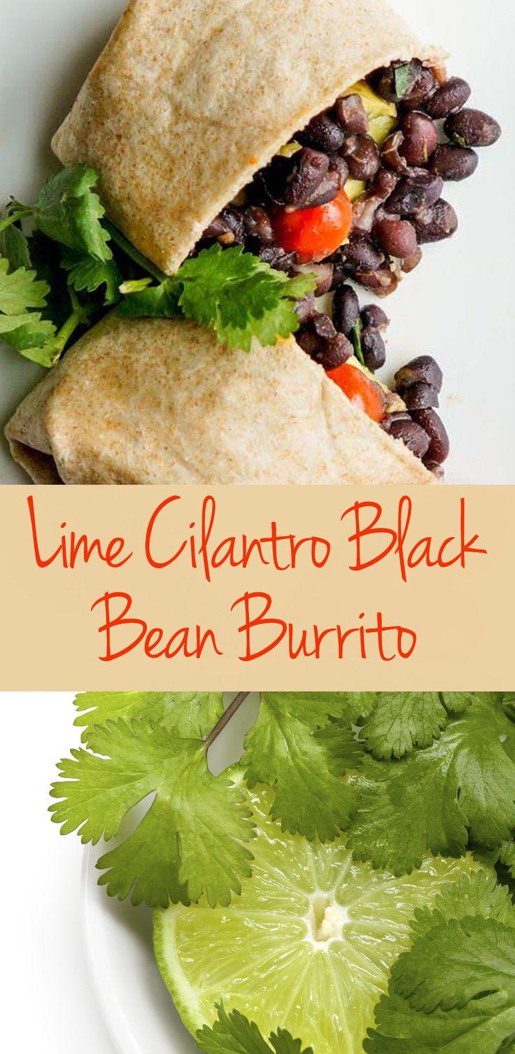 latina magazine black bean burrito bean burritos black beans cilantro ...