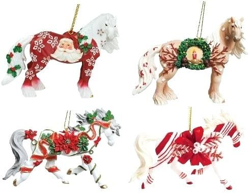 MCH-Rocking Horse Christmas Tree Ornaments Horse Christmas Decorations Uk Carousel Horse Christmas Tree Ornaments
