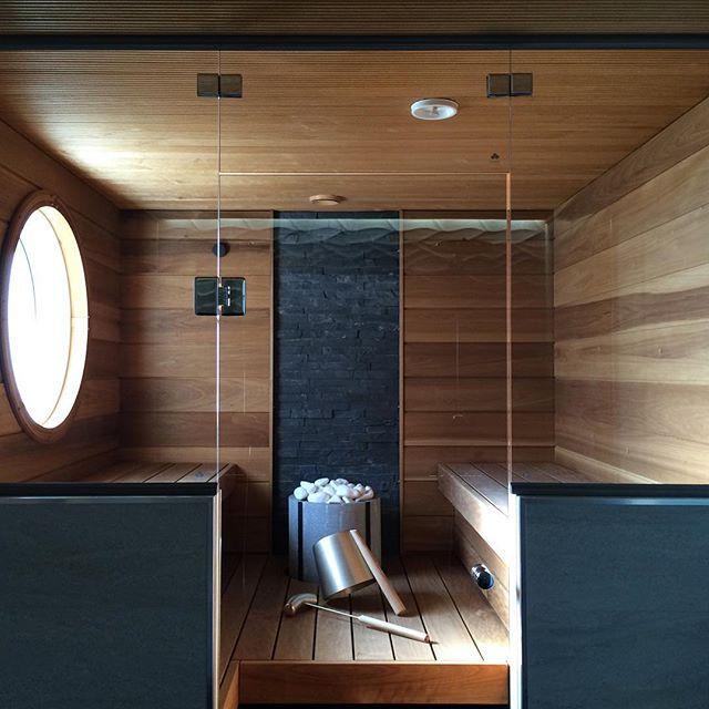 Mahtava luonnonilmiö tämä aurinko ☀️ #myhome #sauna #bastu #bathroom #wood #finnishhome #scandinavian #sunsauna #tulikivi