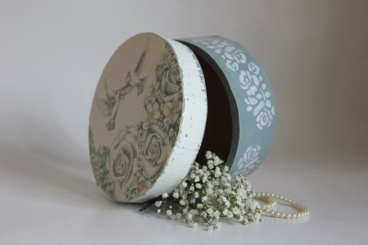 wedding box, wedding decoupage, wedding handmade