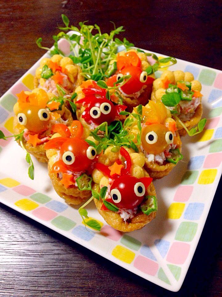 金魚いなり寿司 by 富士子 at 2015-07-07