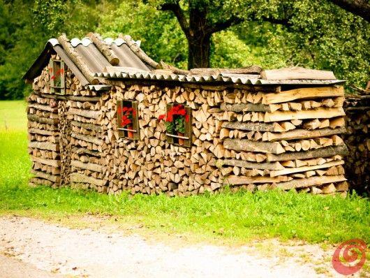 Idee per una decorazione country in un contesto di montagna