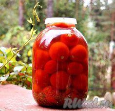 Консервирование помидоров холодным способом