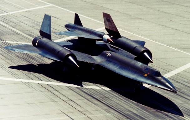 Lockheed M-21 (a variant of the SR-71) carrying the D-21 unmanned reconnaissance drone for unmanned surveillance of the Soviet Union in the late '60s