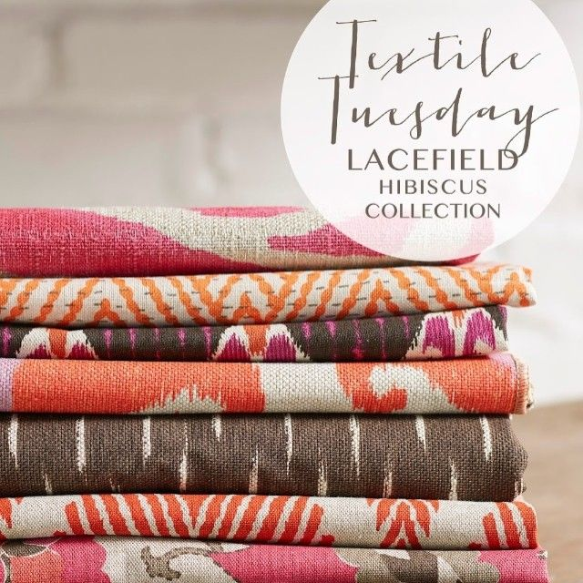 textile tuesday hibiscus collection interiors ikat
