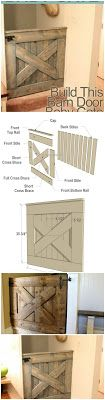 Barn Door Gate Made From Pallets --- #pallets  #palletproject