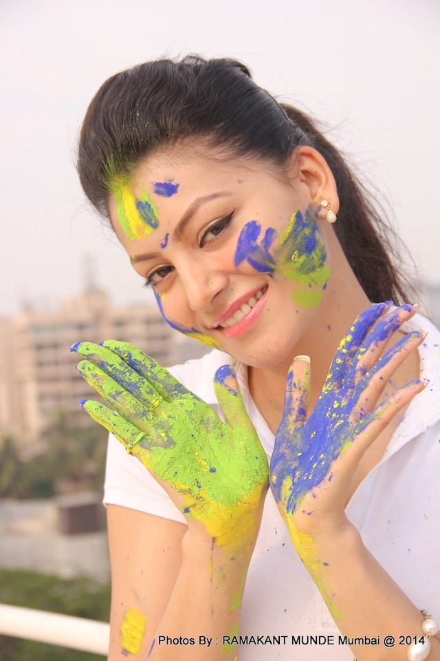 Urvashi Rautela's Holi photoshoot #Style #Bollywood #Fashion #Beauty