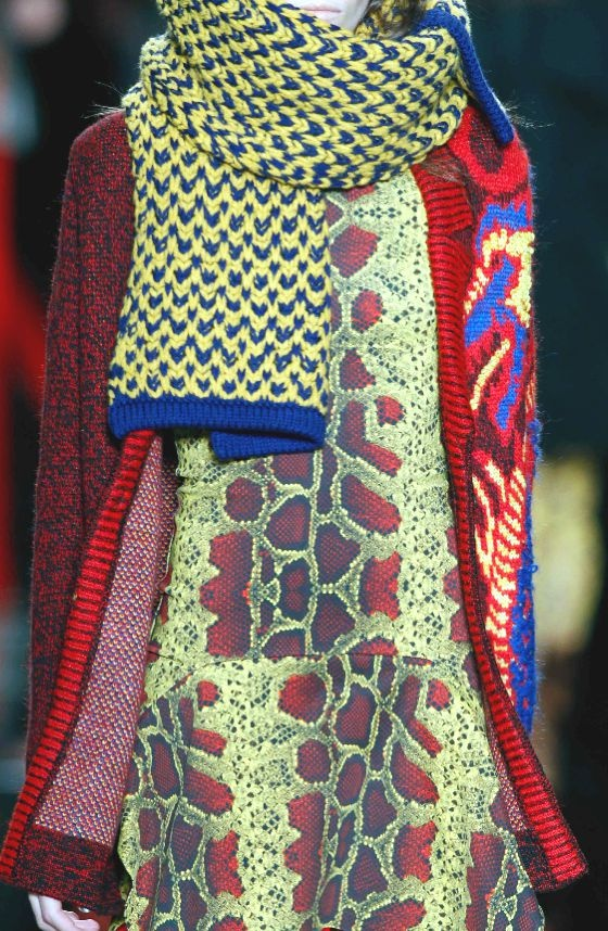 PRINTS, PATTERNS AND SURFACE EFFECTS FROM MILAN FASHION WEEK   Details from womenswear collections fall/winter 2013/14.   Just Cavalli