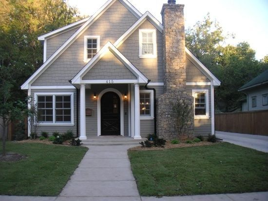 Exterior Color Option: Benjamin Moore - Briarwood (Exterior View)