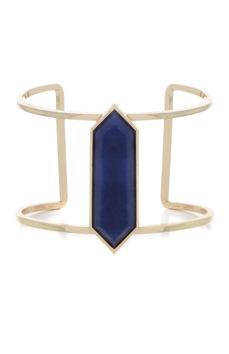 Primark - Brazalete con piedra azul marino