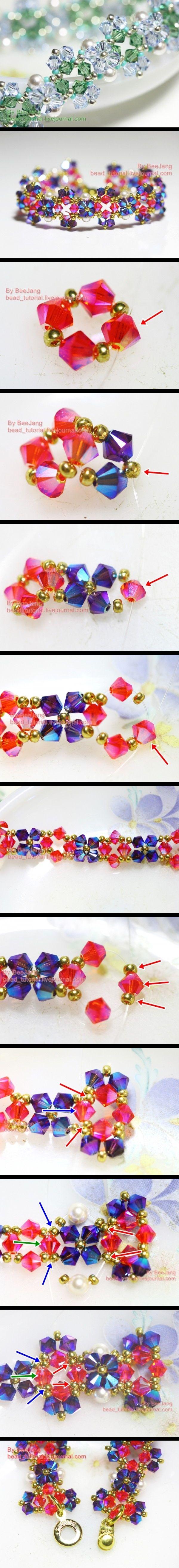 Crystal Bracelet Tutorial