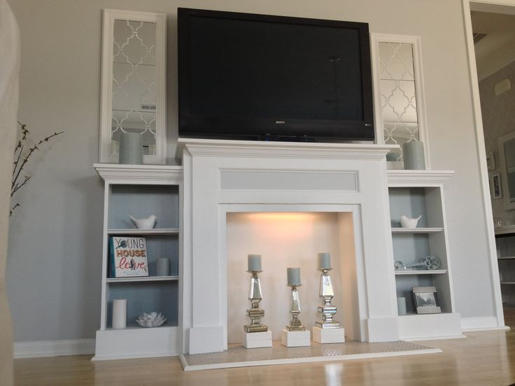 Build Your Own Fireplace Tv Stand Woodworking Projects