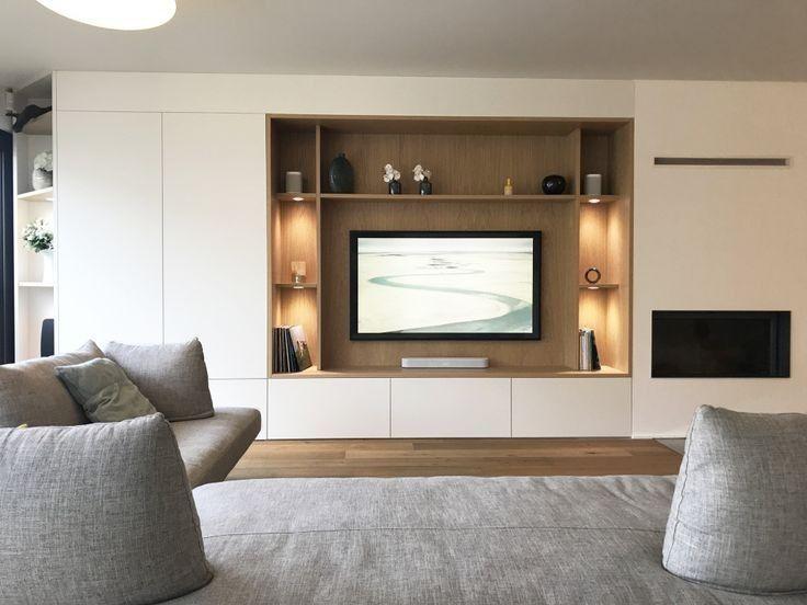 Pin By Arjumand Asmin On Bedroom Ideas In 2020 Tv Room Design Living Room Decor Around Tv Living Room Design Modern