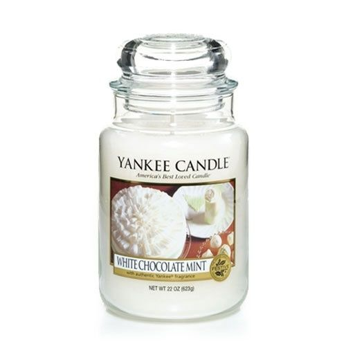 White Chocolate Mint Yankee Candle Melt Into Pure Bliss Buttery Sweet With A Hint Of Vanilla And Cool Peppermint