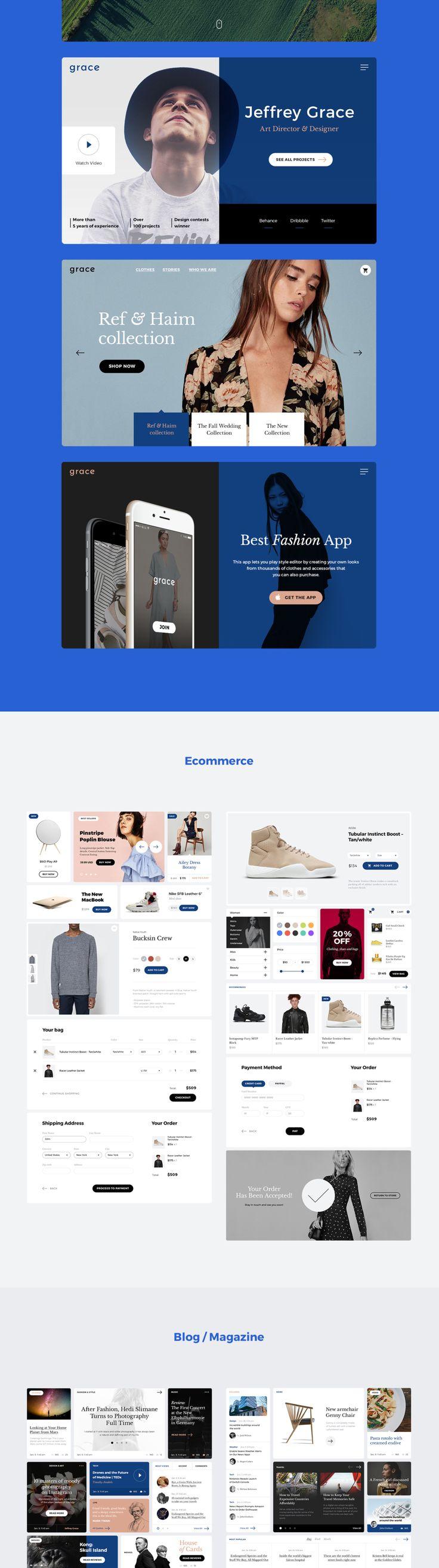 UI8 — Products — Grace UI Kit