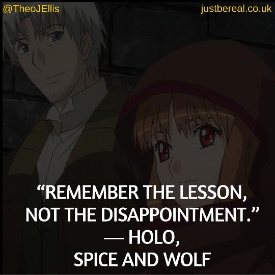 The lesson can benefit you, but focusing on the disappointment cannot. Choose wisely