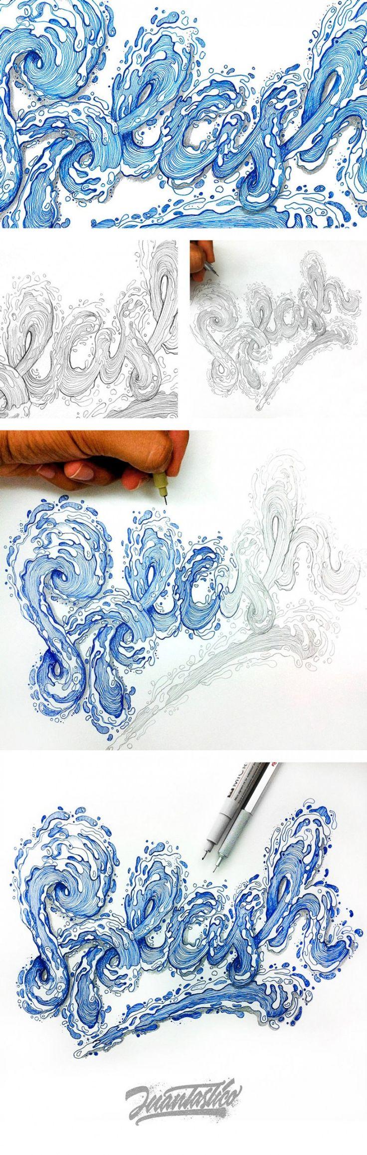 SPLASH Typography Illustrations
