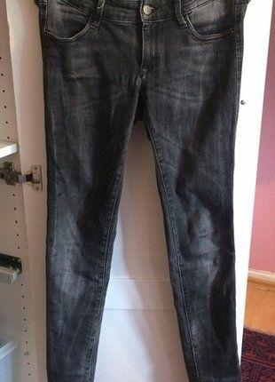 Kaufe meinen Artikel bei #Kleiderkreisel http://www.kleiderkreisel.de/damenmode/jeans/149539036-dunkelgraue-bequeme-jeans-von-hm