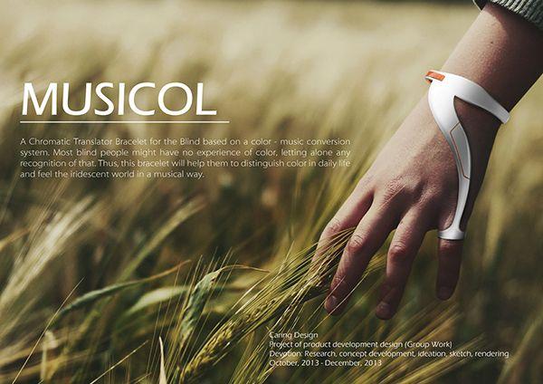 Musicol- A chromatic translator on Behance