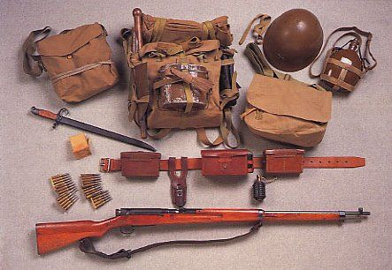 japanese ww2 feild gear for sale | Japanese Military Small Arms [Gunyou-Jyu] and Equipment