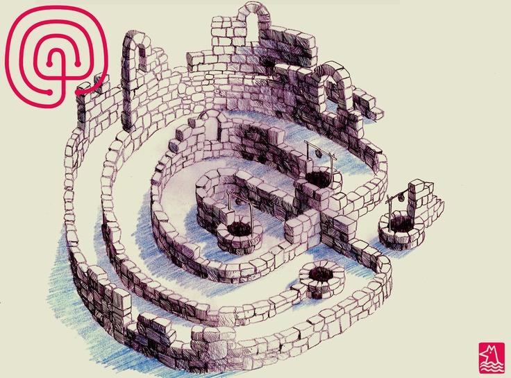 """12. catorce veces... """"La casa de Asterión"""" Fragmento. Jorge Luis Borges"""