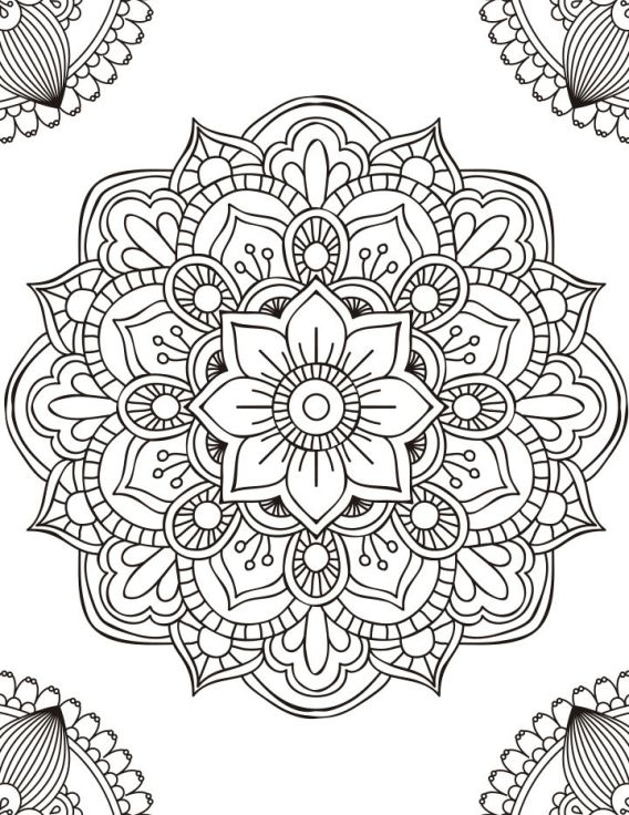 Adult Coloring - Page 4