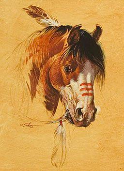 More equine art & inspirations: www.StajniaSztuki.pl  Autor: Ezra Tucker   ACRYLIC