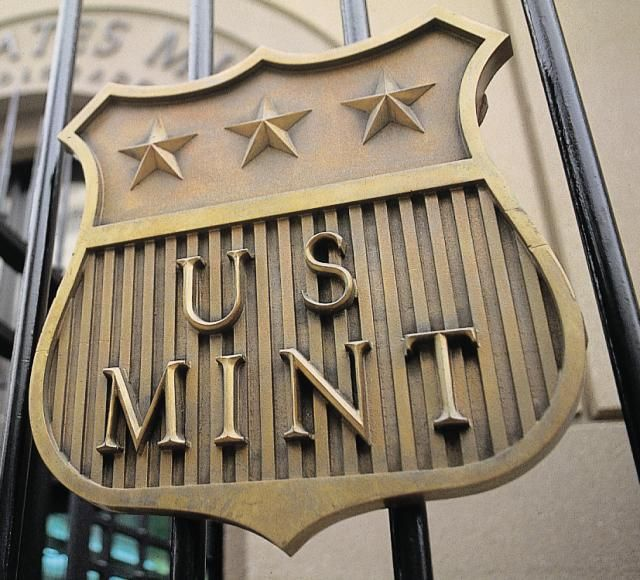 The United States Mint in Denver mints quarters, dimes, nickels and pennies. The Mint offers free tours of its facility Monday - Thursday. The U.S. Mint in Denver is one of four mints in the country producing coins.